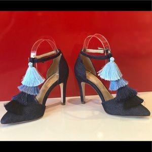 Antonio Melani new elegant dark blue heels